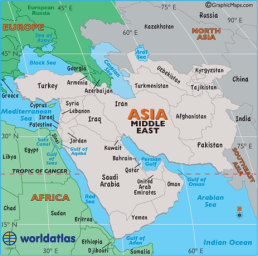 West Asia or Middle East